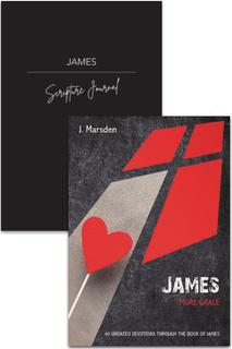James Devotion & Journal 2 Pack